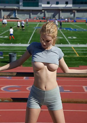 Amateur young looking Samantha Rone and other tens love till present some shorts