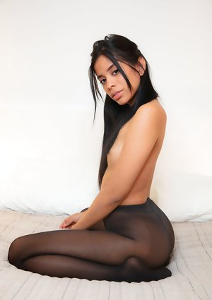 Karin Torres Without clothes in My Tights
