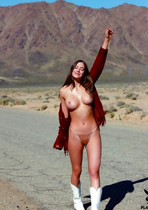 Elsie Hewitt Nude in Playmate June 2017