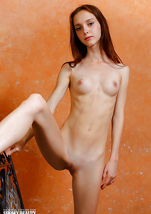 Very flimsy cutie Lapa removes her dress until strip her scrawny backside and vagina