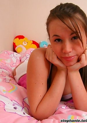 Say hello to Stephanie in her room!