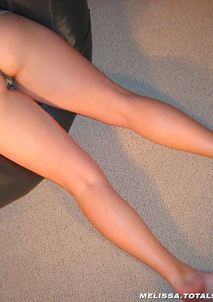 Melissa in tight butt camo panties