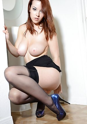 Large juvenile titties and stockings