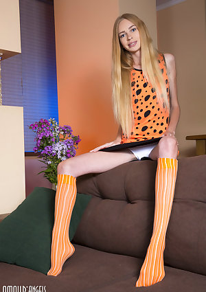 A wonderful teen doll like her just knows how to tease all her boys to the max and does so as she takes all her clothes off.